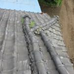 瓦(屋根)修理前の様子③