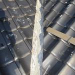 屋根の修復工事①